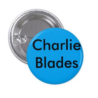 Brooklyn charlie blades bage 3 cm round badge