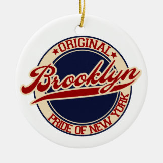 Brooklyn Christmas Ornament