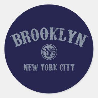 *Brooklyn Classic Round Sticker