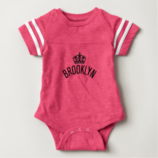Brooklyn Crown Football Bodysuit