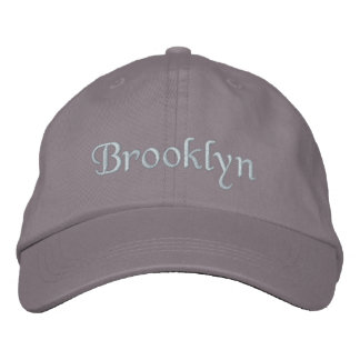 Brooklyn Embroidered Hat