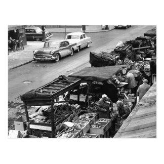 Brooklyn Farmer s Market 1960 Post Card