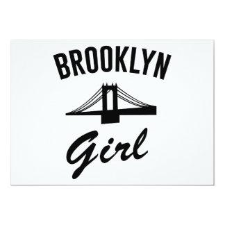 Brooklyn Girl 13 Cm X 18 Cm Invitation Card