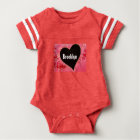 Brooklyn Heart Football Bodysuit