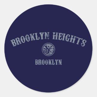 Brooklyn Heights Classic Round Sticker