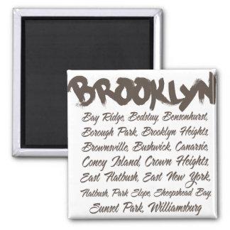 Brooklyn Hoods Magnet