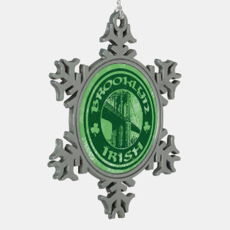 Brooklyn Irish American Christmas Tree Decoration