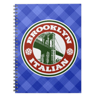 Brooklyn Irish American Notepad Notebooks