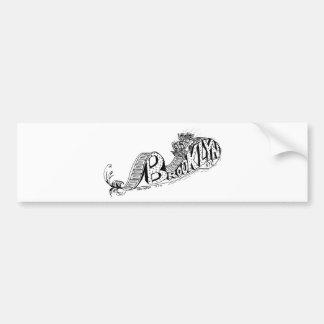 Brooklyn is for thrills! bumper sticker