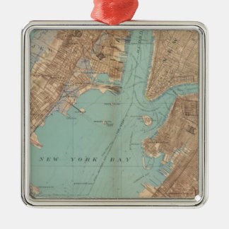 Brooklyn, Jersey City, and Hoboken Christmas Ornament