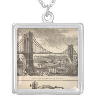 Brooklyn Life Insurance Company Silver Plated Necklace