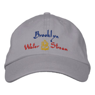 Brooklyn Name With English Meaning Grey Embroidered Hat