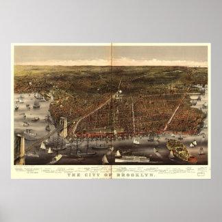 Brooklyn,  New.York 1897 Poster
