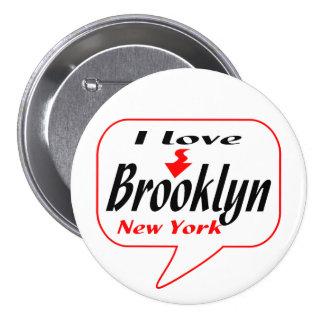 Brooklyn New York 7.5 Cm Round Badge