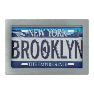 Brooklyn New York Belt Buckle