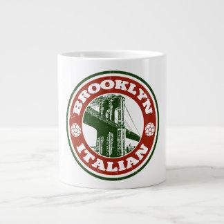 Brooklyn New York Italians Large Coffee Mug