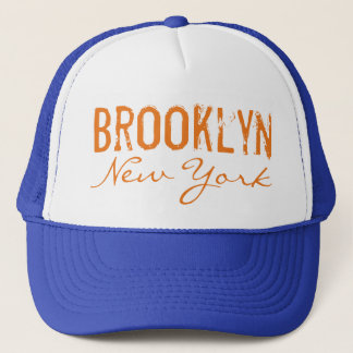 Brooklyn New York Metropolitan Colors Trucker Hat