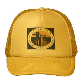 Brooklyn New York Style Trucker Hat