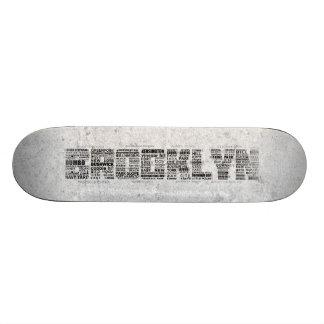 Brooklyn NY Typography Design 18.1 Cm Old School Skateboard Deck