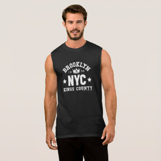 BROOKLYN NYC SLEEVELESS SHIRT