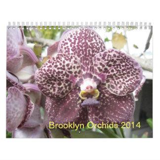 Brooklyn Orchids 2014 Calendar