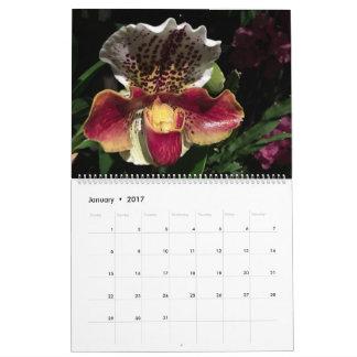 Brooklyn Orchids 2017 Calendar