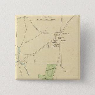 Brooklyn, Plainfield, Windham Center 15 Cm Square Badge