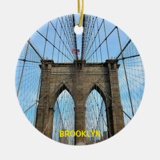 Brooklyn Scenic Christmas Ornament