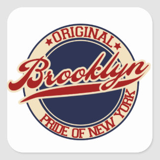 Brooklyn Square Sticker
