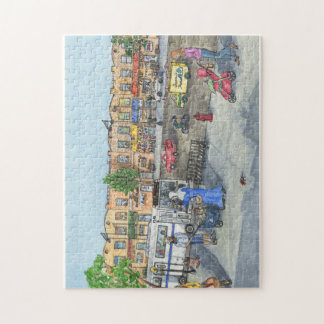 Brooklyn Street Jigsaw Puzzle