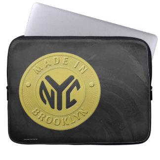 Brooklyn Subway Token Laptop Sleeves