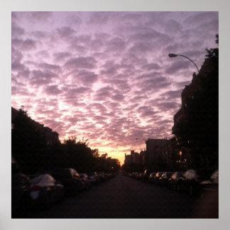 Brooklyn Sunrise Poster