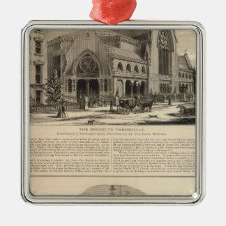 Brooklyn Tabernacle Great Organ Built Christmas Ornament