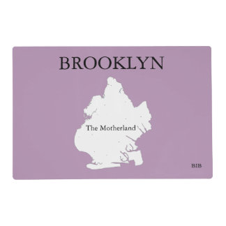 Brooklyn The Motherland Laminate Place Mat Laminated Place Mat