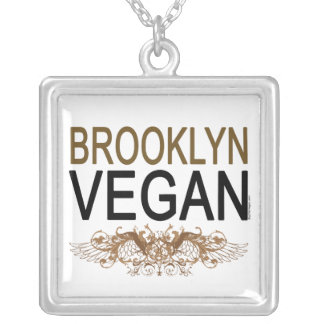 Brooklyn Vegan Personalized Necklace