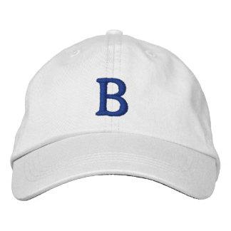 Brooklyn Vintage Cap - Basic Adjustable - White Baseball Cap