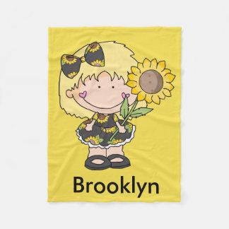 Brooklyn's Sunflower Blanket