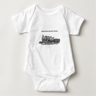 Brooks Camelback Locomotive, Long Island Railroad Baby Bodysuit