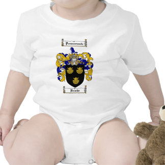 BROOKS FAMILY CREST -  BROOKS COAT OF ARMS SHIRT