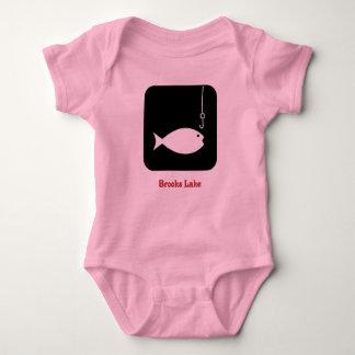 brooks fish symbol t shirts