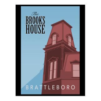 Brooks House Hotel Postcard
