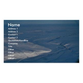 Brooks Range Business Card Template