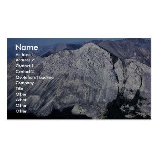 Brooks Range Mountains Business Card Templates
