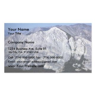 Brooks Range Mountains Business Card Template