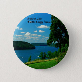 Brookville Lake, Franklin County Indiana 6 Cm Round Badge