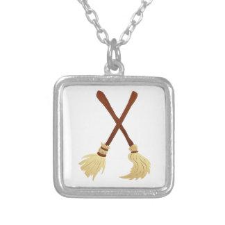 Broom brooms pendant