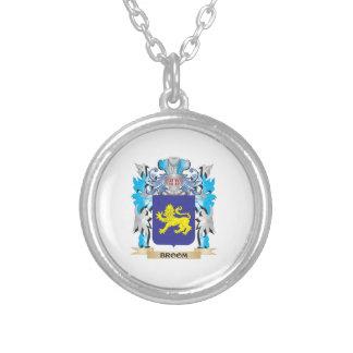 Broom Coat of Arms Custom Jewelry