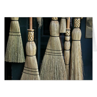 Broom Medley Greeting Card