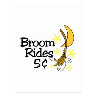 Broom Rides Postcard