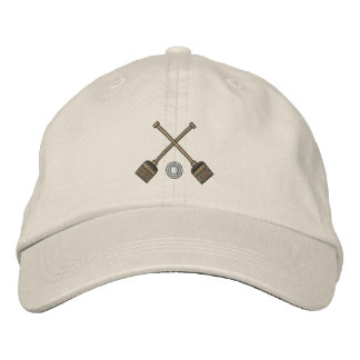 Broomball Embroidered Hat